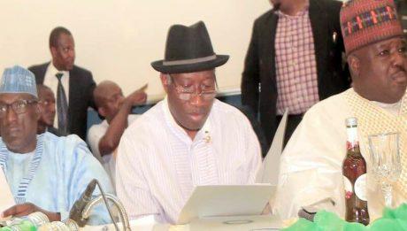 Jonathan speaks on PDP's Supreme Court verdict