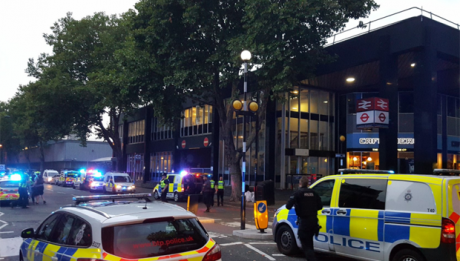 Bomb scare at London's Euston station