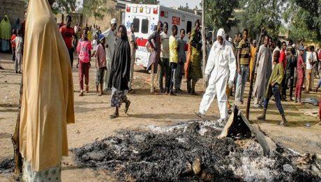 Borno triple suicide attacks