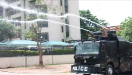 Breaking Resume or resign protest turns sour as police tear gas groups