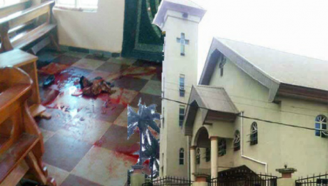 Catholic Church Bloodbath