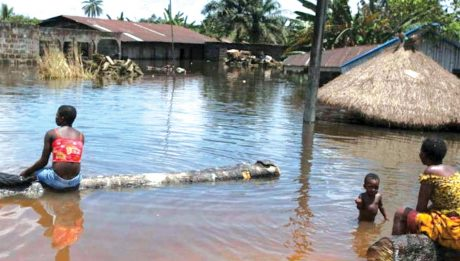 Heavy rain submerges houses, markets in Makurdi