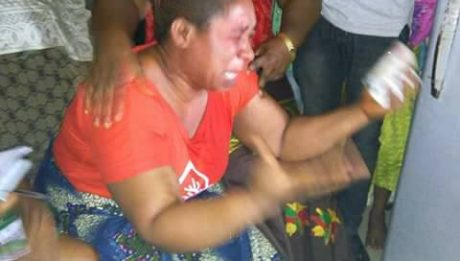 Mother Of Boy Who Was Killed In Owerri Bursts Into Tears As PDP Visits