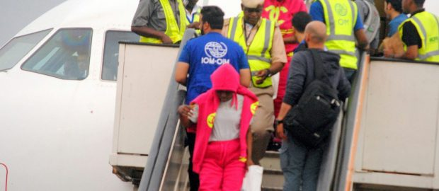 NIGERIA-RETURNEE-FROM-LIBYA-ARRIVES-MURTALA-MUHAMMED-INTERNATIONAL-AIRPORT-IN-LAGOS