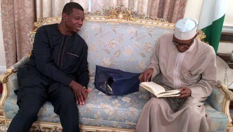 Pastor Adeboye visits Buhari