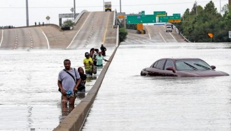 Tropical Storm Harvey caused widespread flooding in Houston