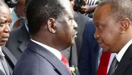 Kenyatta Widens lead, Odinga trails