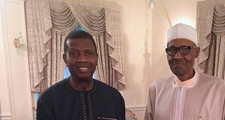What president told Pastor Adeboye in London