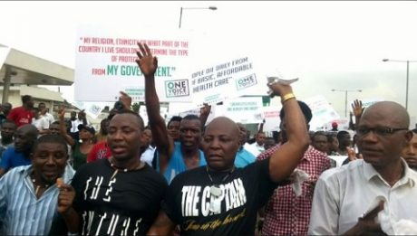 Nigerian government under fire for attacking anti-Buhari protesters