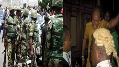 Army speaks on reported 'invasion' of Nnamdi Kanu's house