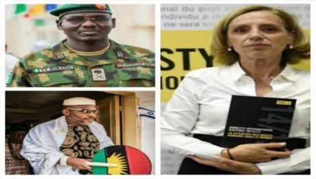 Hours After Military Declares IPOB A Terrorist Group, Amnesty International Goes Tough On Nigeria, Declares Ipob The Most Peaceful Group Worldwide