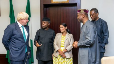 UK ministers meet Osinbajo