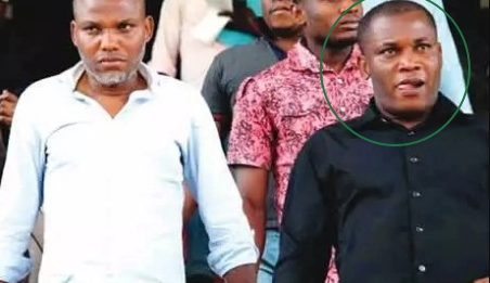 Emmanuel, brother of Nnamdi Kanu