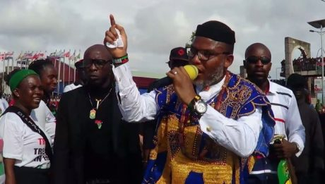 "Nnamdi Kanu: ""Buhari Is Not In Nigeria, Man From Sudan Impersonating Him"" (See Why)"