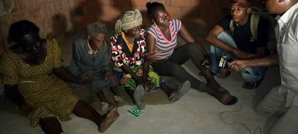 oldest woman at the IDP camp Makurdi