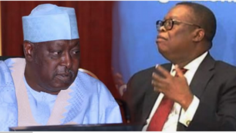 Babachir Lawal and Ayodele Oke