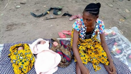 Benue flood victim has delivered a set of triplets