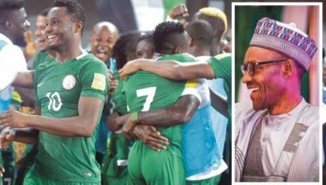 Buhari congratulates Super Eagles