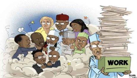 Coflicts in the corridor of power