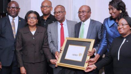 Emefiele receives Forbes award [Photos]