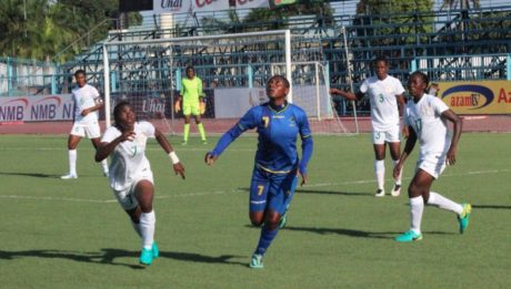 Falconets whitewash Tanzania 6-0 to qualify for next round