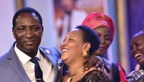Nigerian Pastor Gifts His Wife N30million Cash For Her Birthday