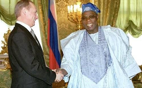 Putin Obasanjo