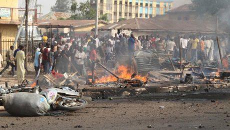 Suicide omb Maiduguri