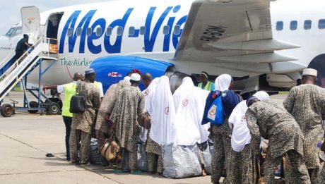 All Nigerian pilgrims airlifted back home