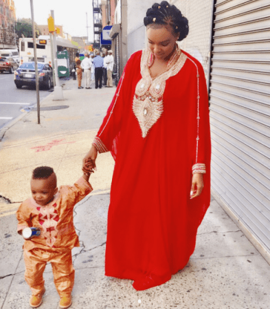 Hope for Nigeria Beautiful New Photos Of Wizkid's 2nd Baby