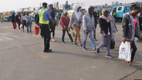 257 Nigerians return from Libya after failed Europe migration attempt