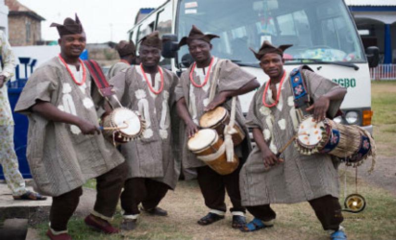 Yoruba drums