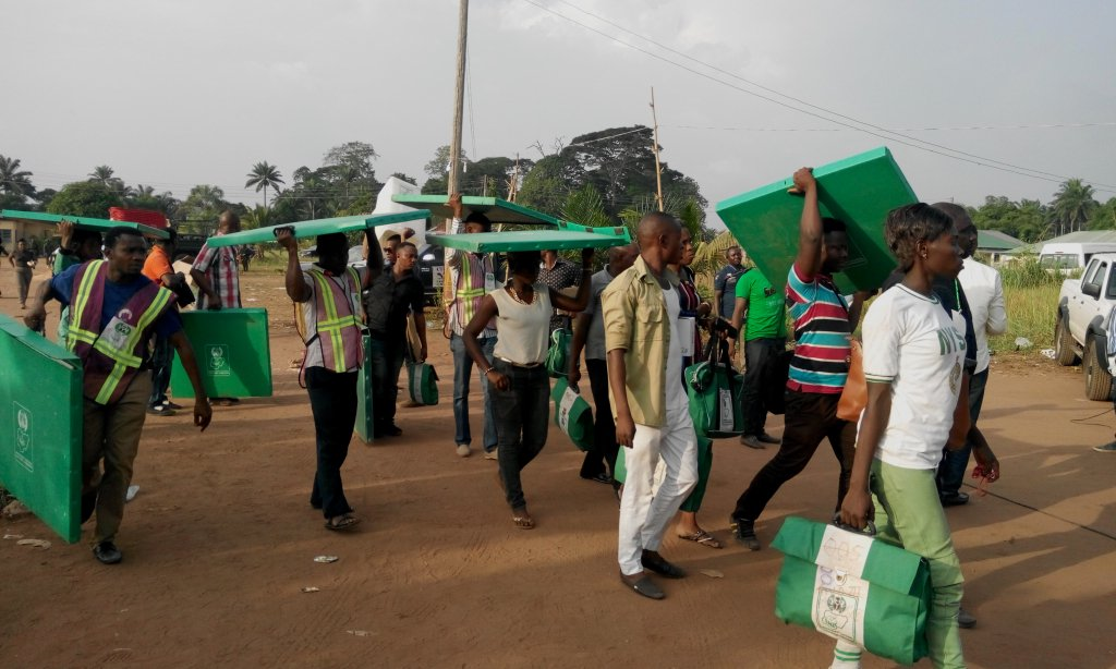 Anambra election: INEC blames corps members for late arrival of materials