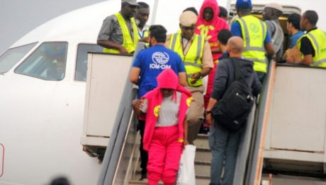 Another 258 Nigerians return from Libya