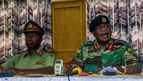 Army take over Zimbabwe national TV