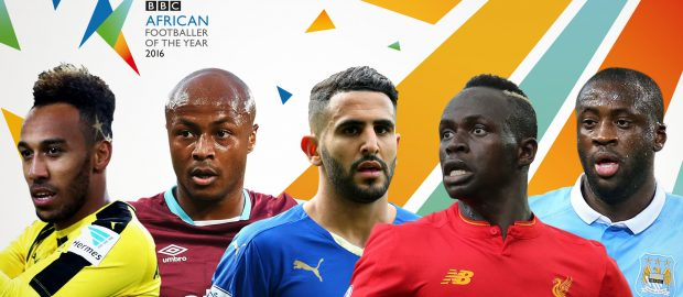 BBC unveils contenders for African footballer of 2017