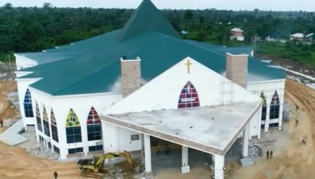 ecumenical centre built by the Bayelsa state governments in Yenagoa