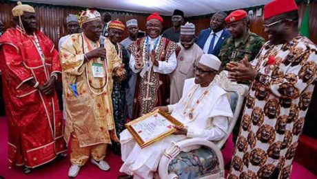 Buhari in Ebonyi State
