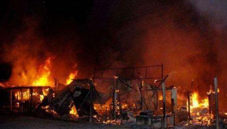 Fire razes 2 female hostels at FGC Keffi