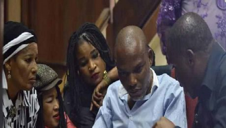 Nnamdi Kanu's family reveals who can disclose IPOB leader's whereabouts