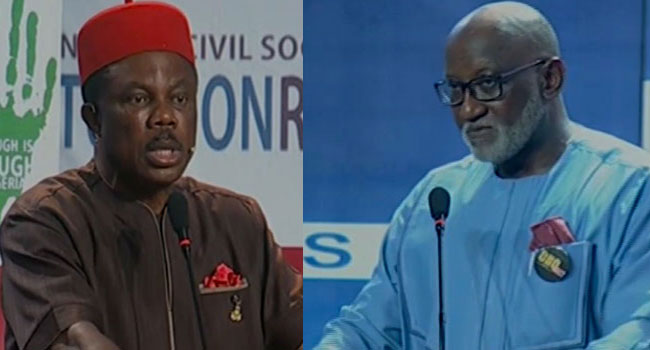 Anambra guber: 'You should be distributing relief materials in Syria' – Obiano to Obaze