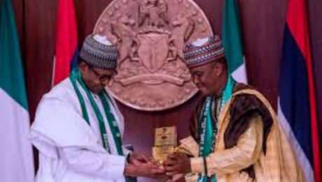 Buhari meets Miyetti Allah in Aso Rock