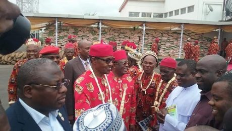 Ebonyi traditional rulers endorse Buhari