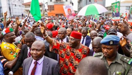 PDP, NBA, others protest over Onnoghen's suspension