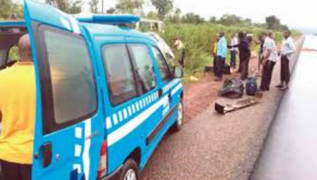 One dies as truck falls off flyover in Asaba
