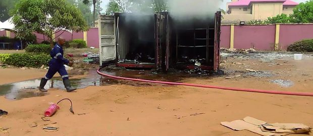 Fire guts Anambra INEC office, destroys sensitive materials