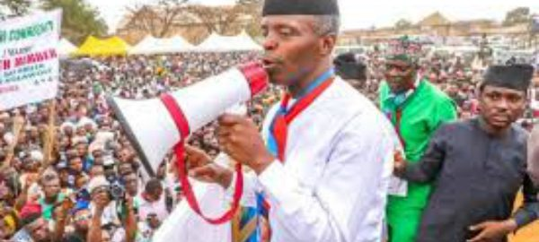 Ignore Amosun, vote APC candidates in all elections, Osinbajo tells voters
