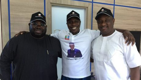 Obasanjo's son campaigns for Buhari in U.S.