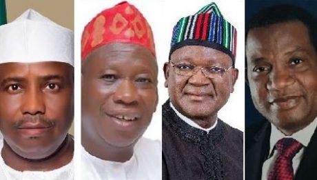 APC's Ganduje, Lalong win, PDP's Tambuwal, Ortom re-elected
