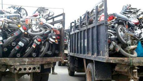 Lagos impounds 22 'Gokada', 'Maxokada' motorcycles, 93 others …to prosecute 10 riders